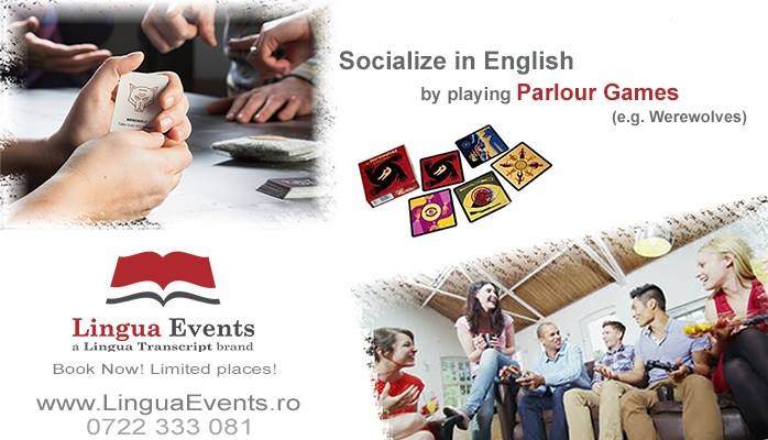 THURSDAY, JANUARY 21ST, 19:00, a new SOCIALIZING EVENING AND AN OFFICE GAMES EVENING IN ENGLISH!